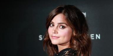 Jenna Coleman attends the BFI Luminous Funraising Gala at The Guildhall on October 6, 2015 in London, England.