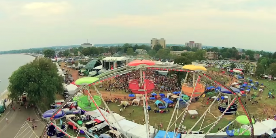 Screen Still of Gathering of the Vibes Festival