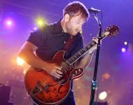 Musician Dan Auerbach of The Black Keys performs at Sprint Center on December 21, 2014 in Kansas City, Missouri