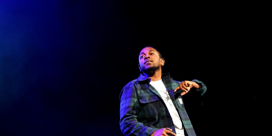Rapper Kendrick Lamar performs onstage during 105.1's Powerhouse 2015 at the Barclays Center on October 22, 2015 in Brooklyn, NY.