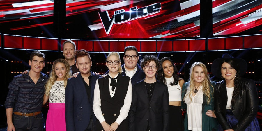 'The Voice' Season 9 Top 10