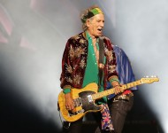 Keith Richards of The Rolling Stones performs live at Allphones Arena on November 12, 2014 in Sydney, Australia.