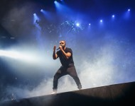Drake performs at the 2015 New Look Wireless Birthday Party