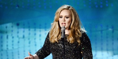 Singer Adele performs onstage during the Oscars held at the Dolby Theatre