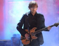 Musician Trey Anastasio of Phish performs onstage at the 25th Annual Rock And Roll Hall of Fame Induction Ceremony at the Waldorf=Astoria on March 15, 2010 in New York City.