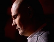 Billy Corgan of The Smashing Pumpkins arrives as Live Nation Celebrates National Concert Day At Their 2015 Summer Spotlight Event Presented By Hilton at Irving Plaza