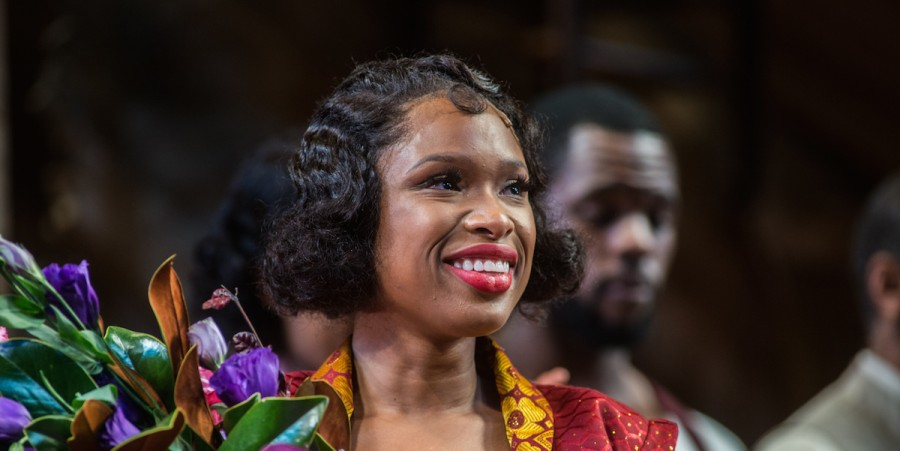 Actress Jennifer Hudson - 'The Color Purple' Broadway Opening Night