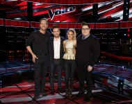 Barrett Baber, Jeffery Austin, Emily Ann Roberts, Jordan Smith of 'The Voice' Season 9