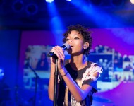 Willow Smith performs at the vitaminwater And The Fader Unite To 'HYDRATE THE HUSTLE' For Fifth Anniversary Of #uncapped Concert Series on October 3, 2015 in New York City.