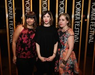 """Sleater-Kinney attend the 2015 New Yorker Festival """"Wrap Party"""