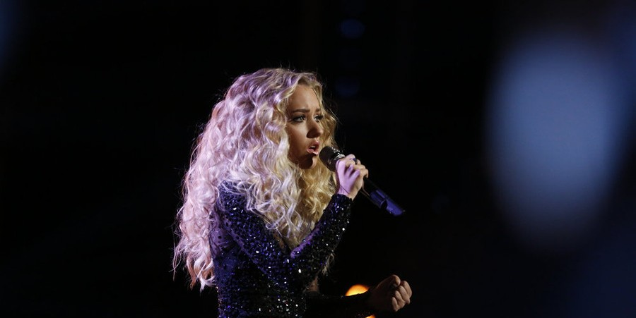 Emily Ann Roberts on 'The Voice' Live Finale