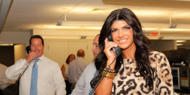 NEW YORK, NY - SEPTEMBER 11: TV personality Teresa Giudice attends Cantor Fitzgerald & BGC Partners host annual charity day on 9/11 to benefit over 100 charities worldwide at Cantor Fitzgerald on September 11, 2012 in New York City. (Photo by Mike McGrego