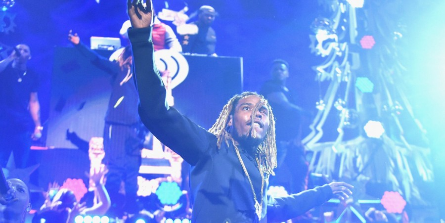 Fetty Wap performs onstage during Z100's Jingle Ball 2015 at Madison Square Garden on December 11, 2015 in New York City.