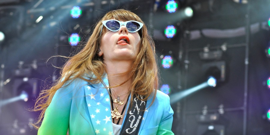 Jenny Lewis proves hair metallers aren't the only ones who can innuendo-up a guitar.