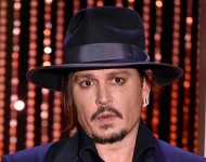 Actor Johnny Depp speaks onstage during the 19th Annual Hollywood Film Awards at The Beverly Hilton Hotel on November 1, 2015 in Beverly Hills, California.