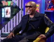 Rapper Ja Rule onstage at the 'Girl Code Live' Season Finale Episode at MTV Studios