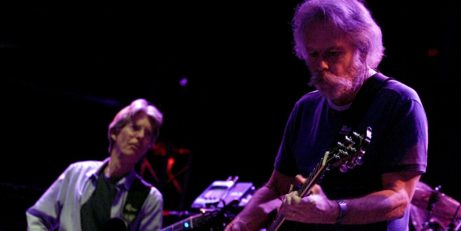 Musicians Phil Lesh and Bob Weir perform during 'An Evening With The Dead'