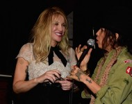 Courtney Love and Linda Perry