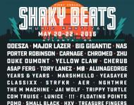 Shaky Beats Music Festival Lineup Final