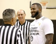 The Game plays in the Equinox 'Celebrity Basketball Spectacular' To Benefit Sports Spectacular on May 30, 2015 in West Los Angeles, California