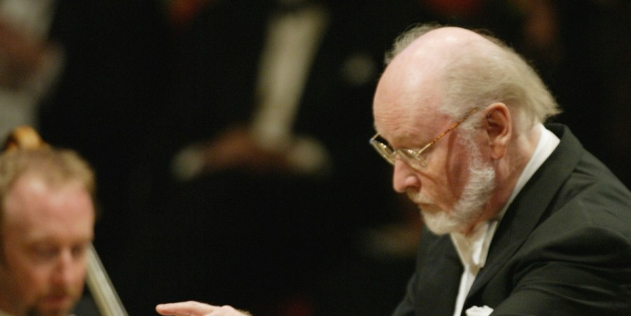 Composer John Williams performs on stage at the Walt Disney Concert Hall opening gala, day three of three, October 25, 2003 in Los Angeles, California. Tonight, 'Soundstage LA: An Inaugural Gala for Walt Disney Concert Hall,' celebrates Hollywood as a cr