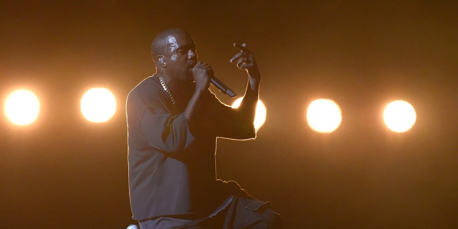 Rapper Kanye West performs at the 2015 iHeartRadio Music Festival at MGM Grand Garden Arena on September 18, 2015 in Las Vegas, Nevada.