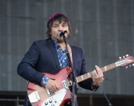 Jeff Tweedy performs onstage during day 2 of the 2013 Bonnaroo Music & Arts Festival