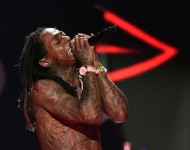 Lil' Wayne performs at the 2015 iHeartRadio Music Festival
