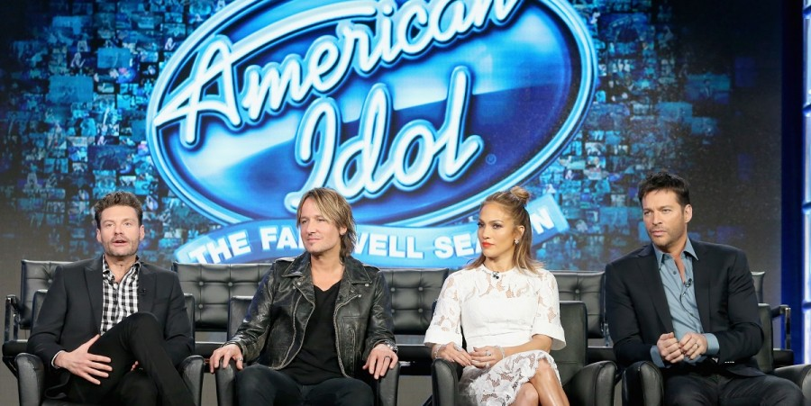 'American Idol' panel discussion at the FOX portion of the 2015 Winter TCA Tour