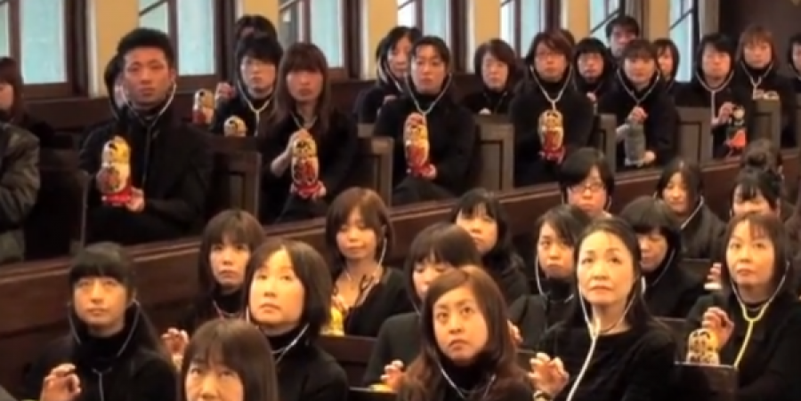 Myriad Beethoven: 167 Japanese Theremin Players Perform Beethoven's Ninth Symphony in Perfect Synchronization
