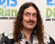 Weird Al Yankovic visits 'The Elvis Duran Z100 Morning Show' at at Z100 Studio on April 20, 2015 in New York City.