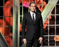 Michael C. Hall is a presenters at the 2014 Breakthrough Prizes Awarded in Fundamental Physics and Life Sciences Ceremony at NASA Ames Research Center on December 12, 2013 in Mountain View, California.