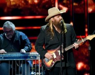 Chris Stapleton performs onstage during the 2015 'CMT Artists of the Year' at Schermerhorn Symphony Center on Dec. 2, 2015 in Nashville.