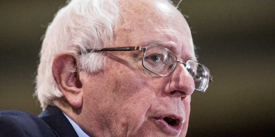 Front Runner Bernie Sanders Campaigns Across NH Ahead Of Primary