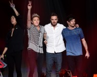 One Direction perform onstage during 102.7 KIIS FM's Jingle Ball 2015