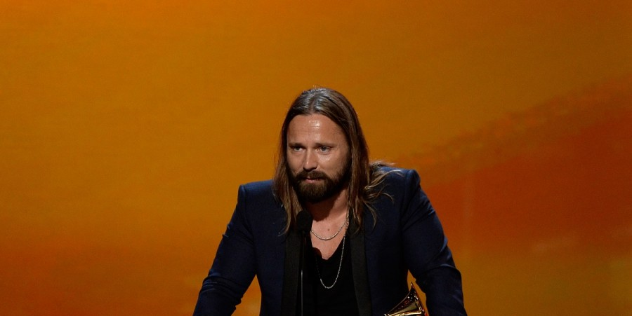 Max Martin during the The 57th Annual GRAMMY Awards on February 8, 2015