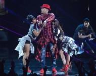 Chris Brown Performs At BET Awards 2014