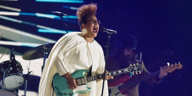 Alabama Shakes perform onstage during The 58th GRAMMY Awards at Staples Center on Feb. 15, 2016 in Los Angeles