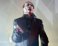 Marilyn Manson performs at Riviera Theatre