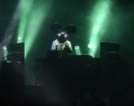 Deadmau5 performs at X Games Aspen 2016 on January 30, 2016