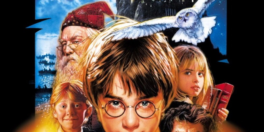 'Harry Potter and the Sorcerer's Stone' Movie Poster