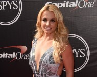 Britney Spears attends The 2015 ESPYS at Microsoft Theater on July 15, 2015 in Los Angeles