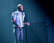 Kendrick Lamar performs onstage during The 58th GRAMMY Awards