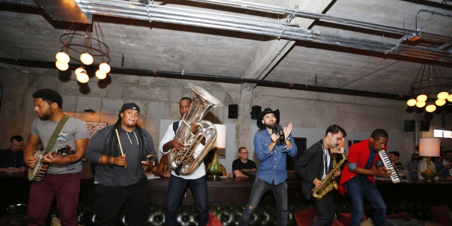 Lollapalooza Artists At Soho House Chicago Pre-Opening With Grey Goose