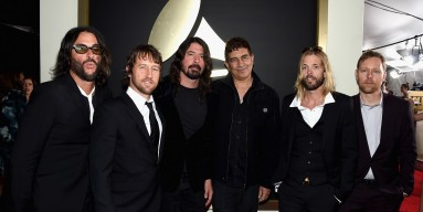 Foo Fighters attend The 58th GRAMMY Awards at Staples Center on February 15, 2016