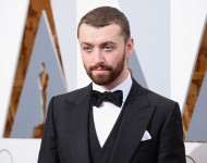 Sam Smith attends the 88th Annual Academy Awards