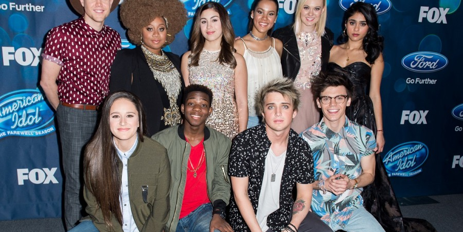 'American Idol XV' Finalists at The London Hotel on February 25, 2016 in West Hollywood, California.