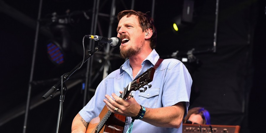 Sturgill Simpson performs onstage during day 3 of the Firefly Music Festival