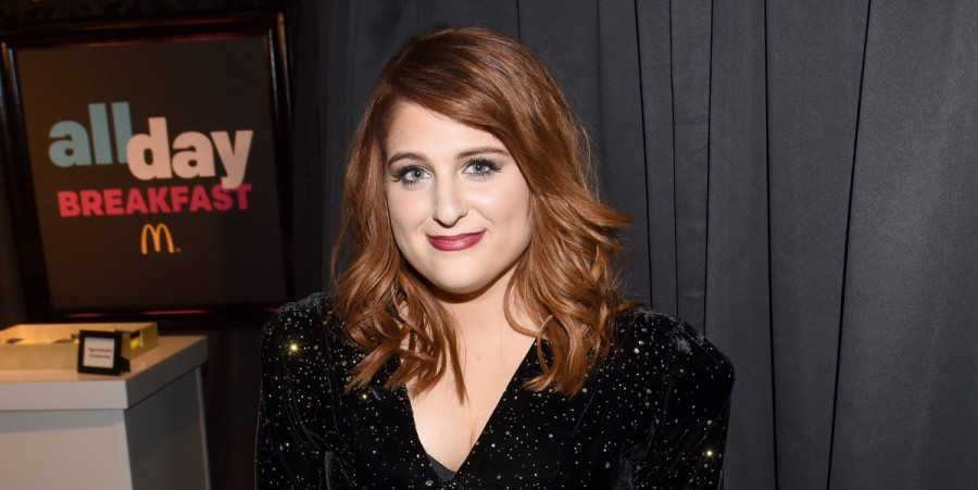 Meghan Trainor at McDonald's All Day Breakfast bar at the 58th Grammy Awards on February 15, 2016