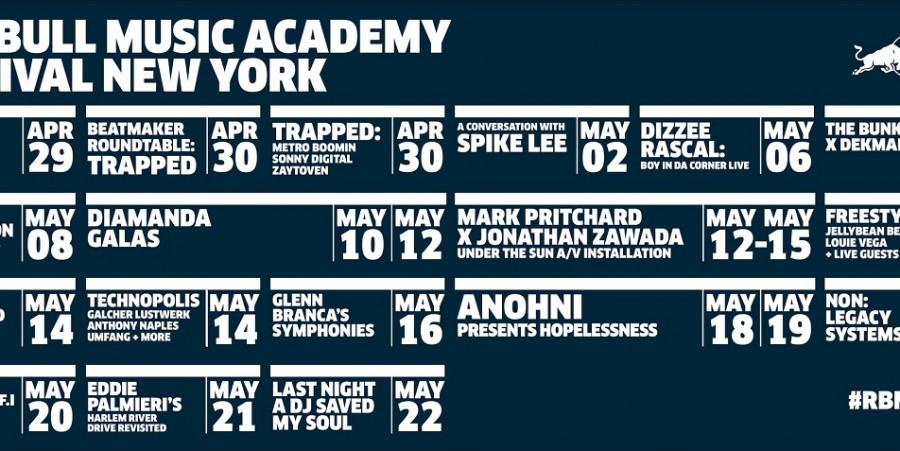 Red Bull Music Academy New York 2016